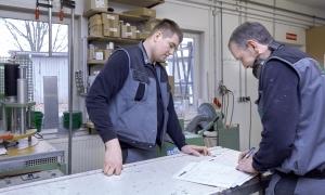 HARDER Glasbau - Fertigung